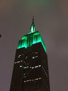 I soon realised dressing the Empire State Building up was not unusual, so that's all good.
